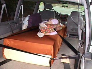 Car Safety for the Horizontal Passenger